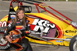 Teen USAC National Midget Series driver Caitlin Shaw has been interested in racing since she was only 9-years-old