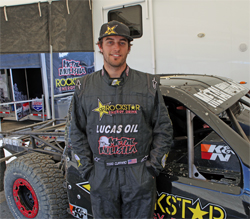 2008 CORR Rookie of the Year Todd Cuffaro competes for Metal Mulisha in the Lucas Oil Off Road Racing Series