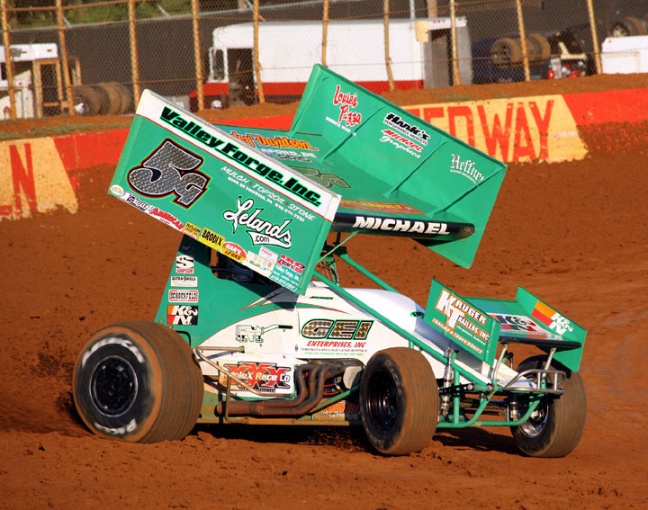 Curt Michael Walks Away From Lincoln Speedway In Abbottstown