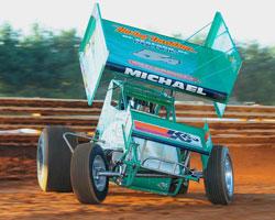 Winged Sprint Car Racer Curt Michael