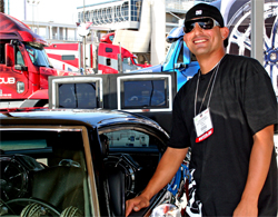 Fabian Rodriguez of Fresno, California waited a decade to see his modified car dreams come true