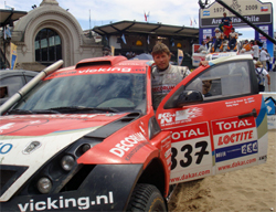 Michel De Groot drove the Mc Rae Enduro in the 2009 Dakar Rally