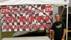 Dalton Millican recently won his first career AMA ATV Championship.