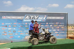 AMA ATV National MX Series Racer Dalton Millikan