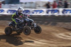 Dalton Millican recently continued his string of hole-shots and wins at the second stop of the AMA ATV Motocross Championship Series.