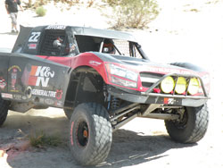 K&N Filters, Lucas Oil, Black Ice Energy sponsored Trophy Truck