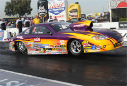 The win at the 46th Annual Automobile Club of Southern California NHRA Finals gives Fletcher his 70th NHRA event victory, moving him into seventh on the all-time NHRA winner's list.