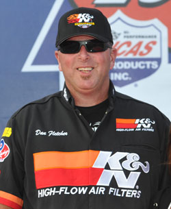NHRA Drag Racing Champion Dan Fletcher
