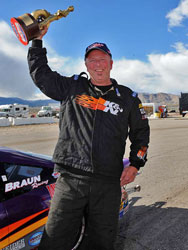 Dan Fletcher masterfully drove his K&N Chevy Cobalt to his 76th NHRA National victory.