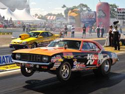Drag Racing's Dan Fletcher wins Super Stock at Brainerd International Raceway in the 31st Annual Lucas Oil Nationals