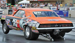 The win at zMax Speedway was Fletcher's 69th  national event title.