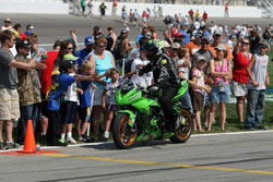 For a number of obvious reasons freestyle riding competitions continue to be one of the fastest growing motorcycle markets.