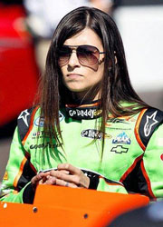 (Photo- AP) Danica Patrick says she hasn't raced on dirt since she was 10.