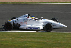 Cammish's goal is to become Dunlop MSA Formula Ford British Champion
