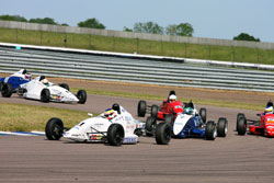 The Scholarship class is for Drivers new to Formula Ford and they must drive a year old car