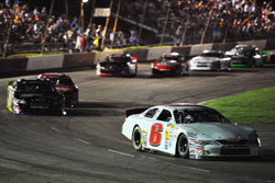 Daniel Suarez led 88 laps of the K&N Pro Series East race NAPA 150 Columbus Motor Speedway.