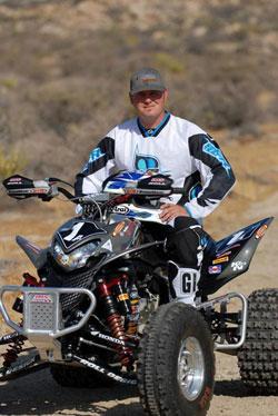 ATV rider Danny Prather
