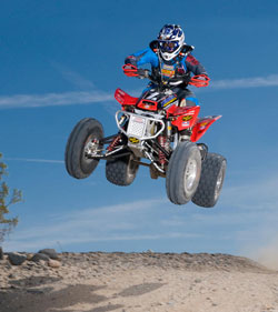 2009 & 2010 Best In The Desert Quad Pro Champion Danny Prather