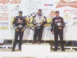 Danny Sheridan takes podium after USAC 360 Victory
