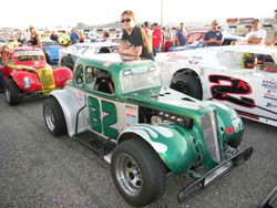 Derek Lacey spent his rookie season racing at The Orange Show in San Bernardino