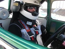 Legend Car Driver Derek Lacey