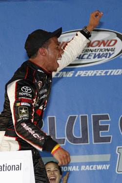NASCAR K&N Pro Series East Driver Darrell Wallace Jr.