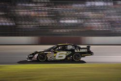 Darrell Wallace took the lead early in the Jegs 150 and won his second race of the season.