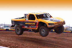 The number 23 truck will continue to be piloted by patriarch team owner Jerry Daugherty.