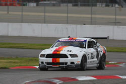Dave Martis unleashed the K&N Mustang RTR for the first outing at Sonoma Raceway.