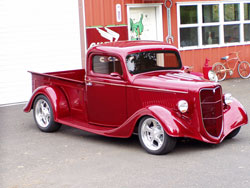 David Andrews' 1938 Ford Street Rod