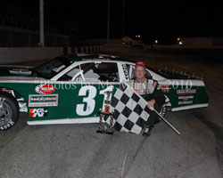 Glidewell's last minute gear change improved his cars handling enough to allow him to win the title.