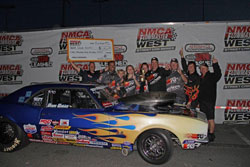 David Gotts won Super Quick finals in his first ever NMCA West event