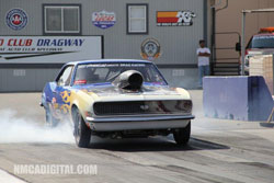 Gotts won 10 of 11 rounds of racing in the first major event at Fontana Dragway since it's reopening