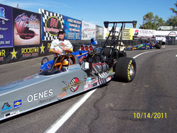 David Oenes is looking forward to competing in more events during the 2012 season.