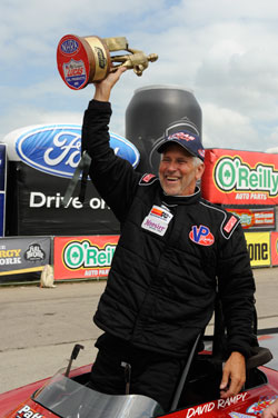 Rampy wins 22nd annual O'Reilly Auto Parts NHRA Summer Nationals.