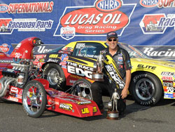 David Rampy wins Super Stock and Competition Eliminator at NHRA SuperNationals