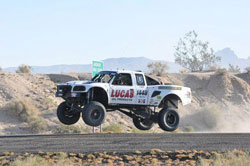 The Deaknbuilt Ranger was thoroughly tested at the SNORE opening event in Primm.