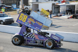 In the same week, Troy DeCaire earned a top-ten finish with the USAC Silver Crown Series, and got his first MSRXSS victory.