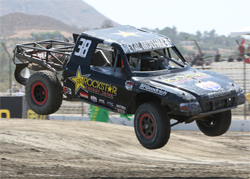 Metal Mulisha has its first professional truck racing victory at Lake Elsinore Motorsports Complex in California