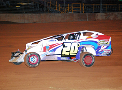 Frenchville, Pennsylvania racer drives Chevy powered race car in the Big Block Dirt Modified Division