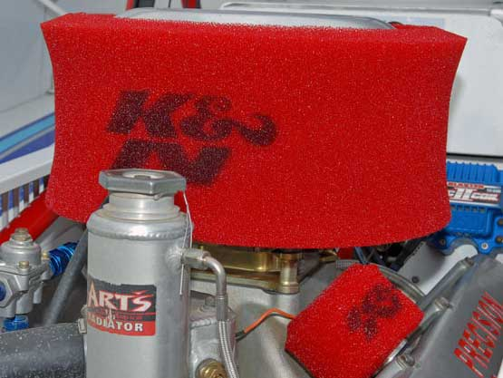 Dirt Modified Air Cleaner : Weekend of highs and lows for big block dirt modified