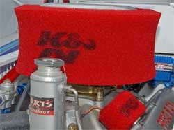 Rougeux uses K&N Engineering Products
