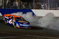 Derek Thorn moved into first place in the K&N Pro Series West standings