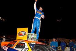 Derek Thorn wins NASCAR K&N Pro Series West race at G-Oil 150 at Stockton 99 Speedway