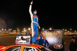 Derek Thorn won NASCAR K&N Pro Series West race at Colorado National Speedway