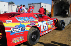The Despain Motorsports crew said they didn't do anything different to their car during the off season, except put a new body on and check over every inch of the year to insure it's ready to go for 2012.