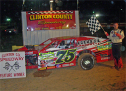 Open Wheel Modified Series Winner's Circle for Despain Motorsports