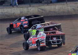 Despain will try for its fourth consecutive win at Clinton County Speedway in the Open Wheel Modified Class