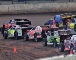 Thumper and Brutus are both Open Wheel Modified cars owned by Despain Motorsports, and both made the Winner's Circle