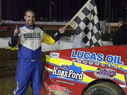 The 2010 American Modified Series Rookie of the Year said his first ever win on one of the most prestigious tracks in the United States was huge for him and his family.